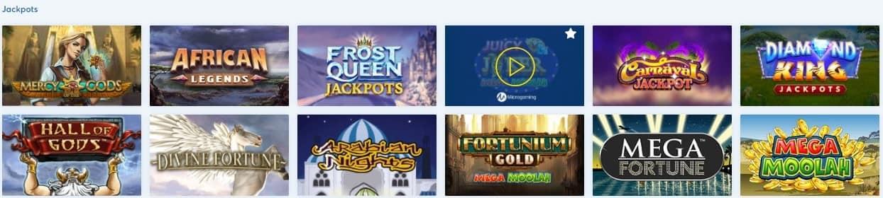 betshop casino jackpot