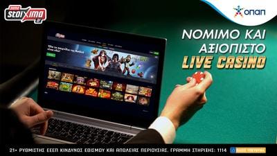 pamestoixima live casino